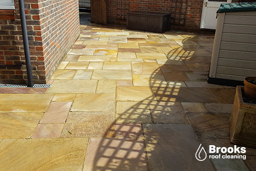 Patio cleaning in caterham, we remove moss, algae and lichen from ...